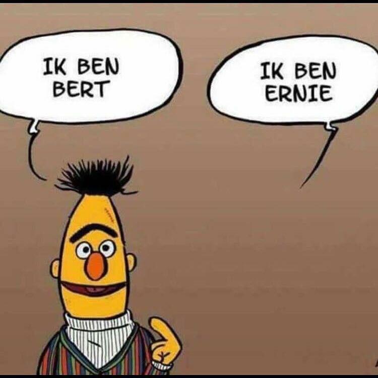 Bert en Ernie Grappige woordspelingen