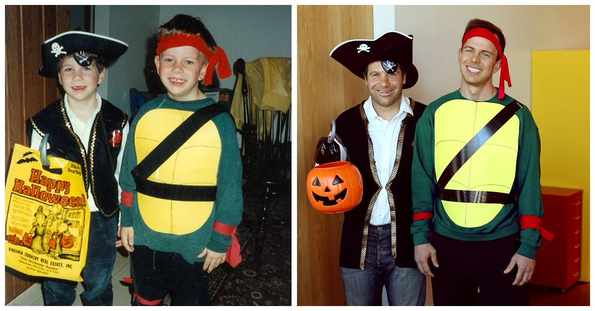 Tbt To Trick Or Treating With Your Best Buds Whats Your