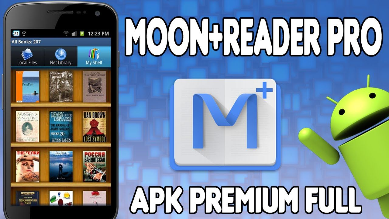 Moon+ Reader Pro APK v3.0.7 TexttoSpeech eBook Reader
