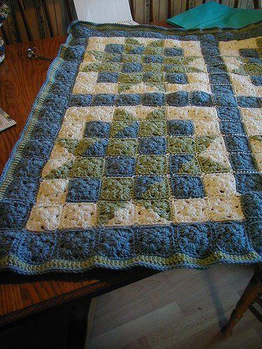 Copertine Ad Uncinetto Patchwork Crochet Per Una Coperta Originale