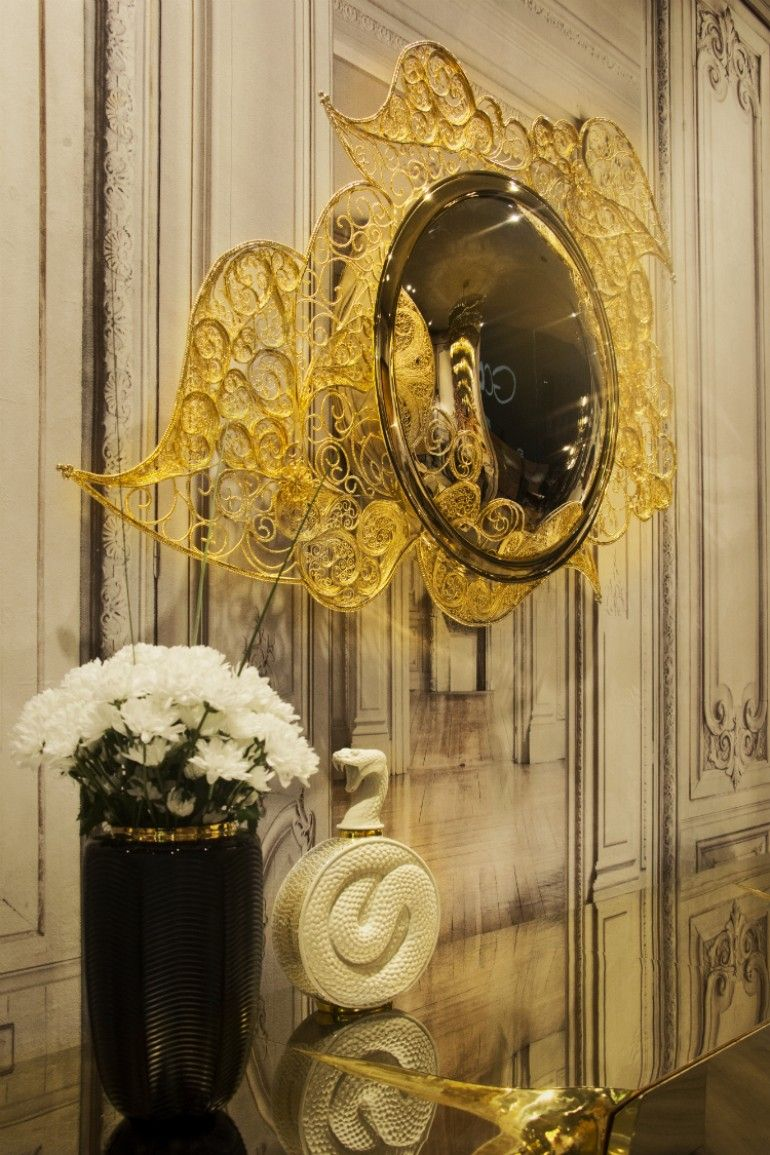 Filigree Mirror by Boca do Lobo  www.bocadolobo.com #bocadolobo #luxuryfurniture #exclusivedesign #interiodesign #designideas #mirrorideas #mirrordesign #mirror