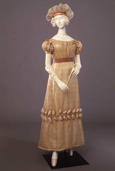 Evening dress ca. 1825  From the Galleria del Costume di Palazzo Pitti via Europeana Fashion