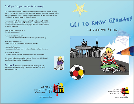 Germany Coloring Book For Kids Free To Print Pdf File Coloring Books Color Books