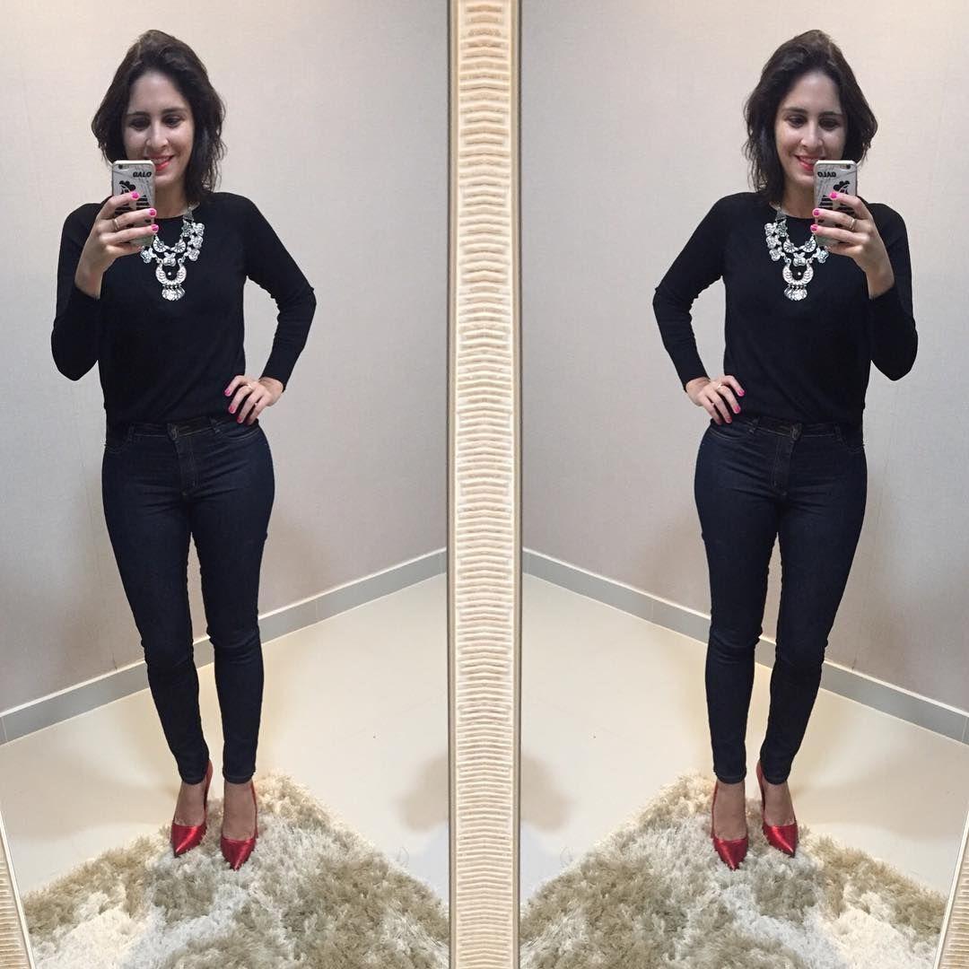 """150 curtidas, 11 comentários - Gabriela Duarte (@barato_fashion) no Instagram: """"Olha meu scarpin #santalolla metalizado dando o ar da graça.... #barato_fashion #bomdia…"""""""