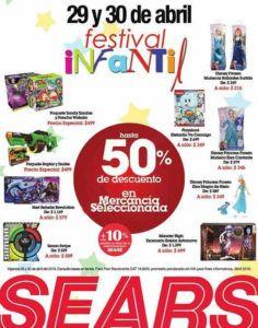 5e718715c Sears Festival Infantil Día del Niño