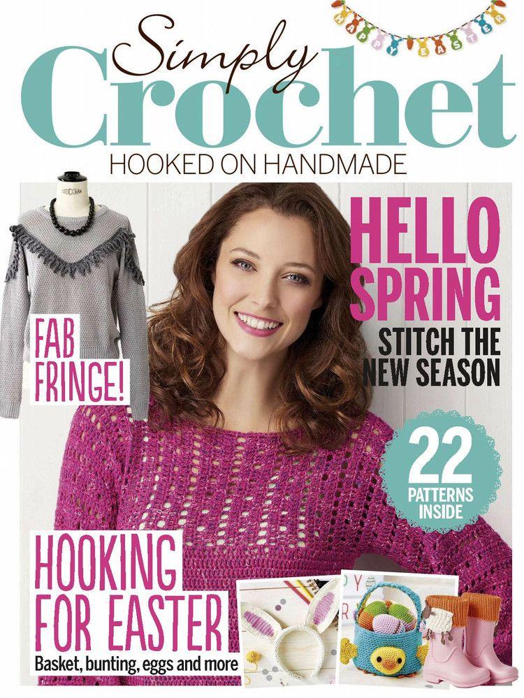 Simply Crochet 42 2016 轻描淡写 轻描淡写 Crochet Books