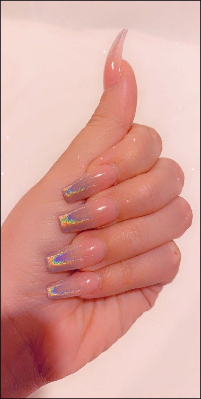 Top 90 Coffin Nails Ideas For This Summer 2019 Page 38 Ombre Acrylic Nails Pretty Acrylic Nails Coffin Nails Designs
