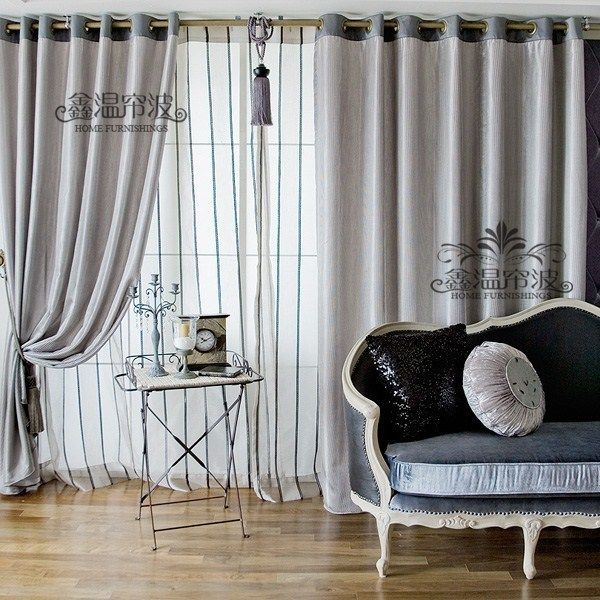 Image result for dual layer curtains | Layered curtains ...