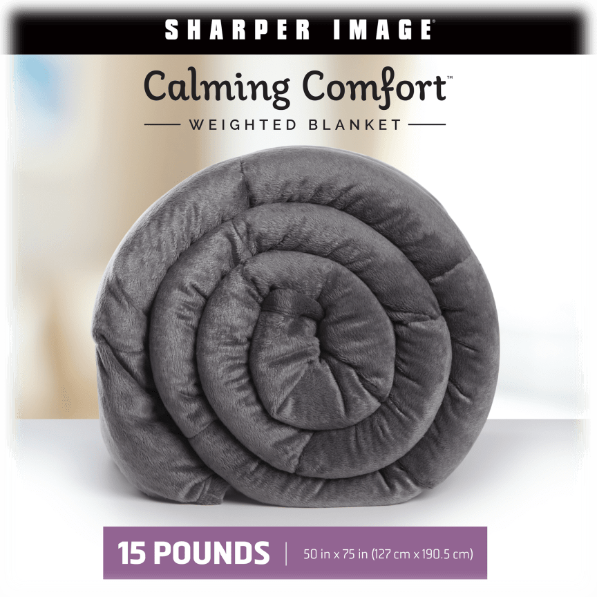 Sharper Image Calming Comfort Weighted Blankets Weighted