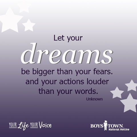 Making A Difference Quotes Dream Big Make A Difference  Boys Town National Hotline .