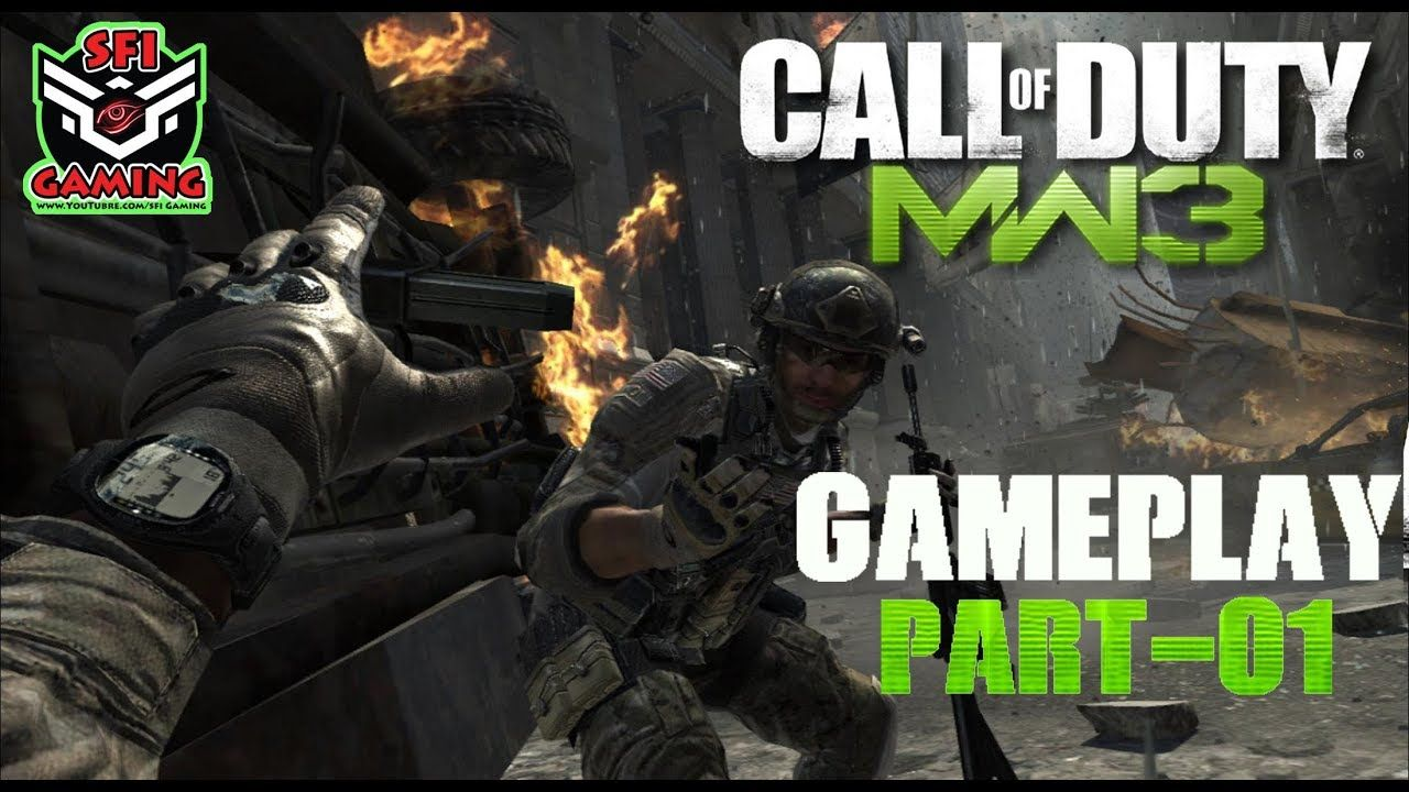 Call of Duty Modern Warfare 3 - Part 1 [Mission 1 Black Tuesday