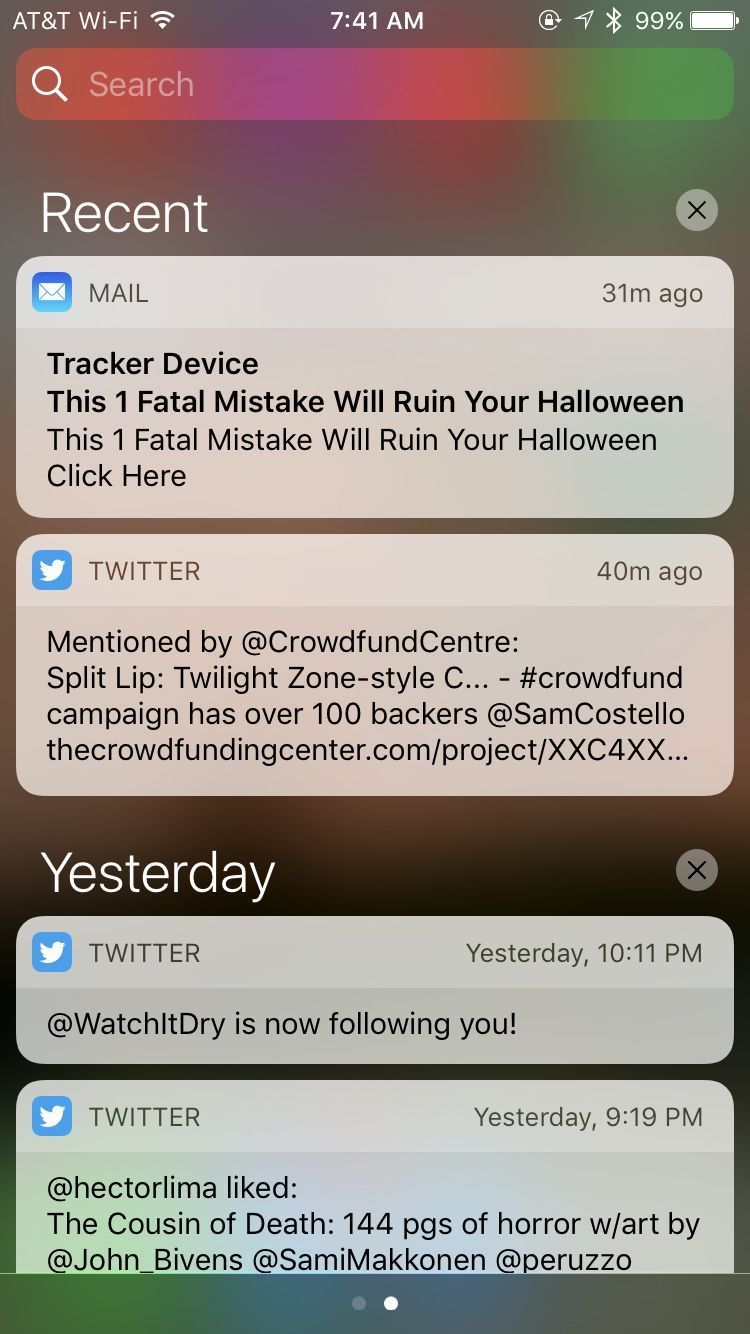Using iPhone's Notification Center Cool iphone cases