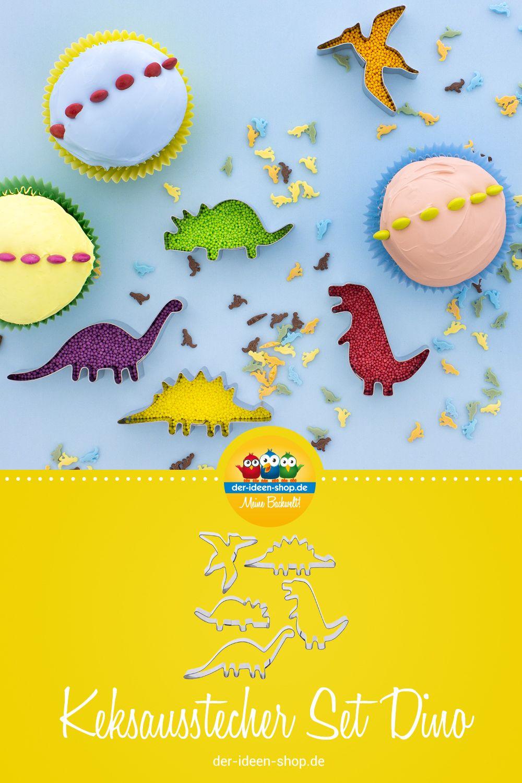 1 Keksausstecher Set Dinos Kekse Tortendekoration Und Tortendeko
