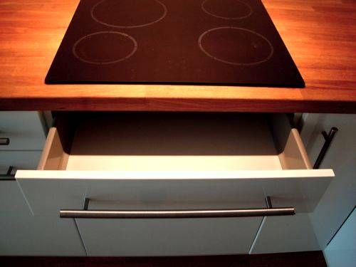 RATIONELL Schublade unter Kochfeld Kitchens Pinterest - schubladen für küchenschränke