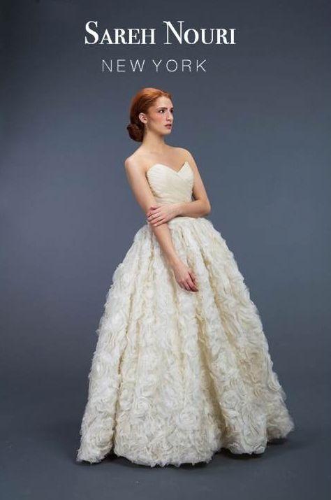 Neda Fall 2012 #SarehNouri #sareh #nouri #weddings #gowns | Spring ...