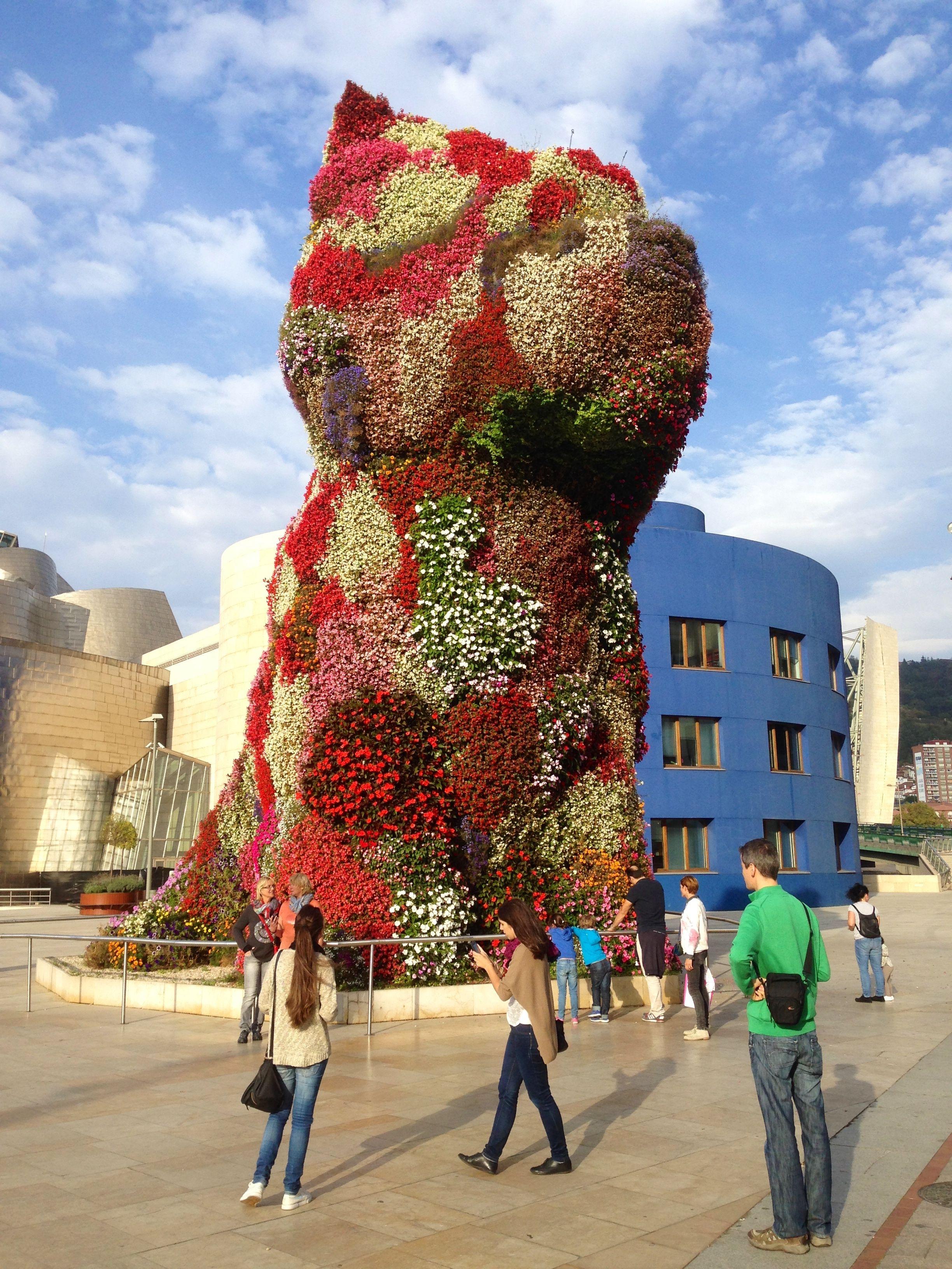 Jeff Koons' Puppy, The Guggenheim Bilbao Jeff koons