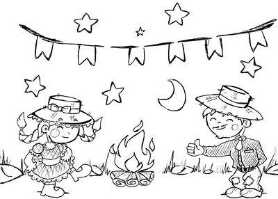 Dibujos Hoguera San Juan Buscar Con Google Noche De San Juan Dibujos Thermomix