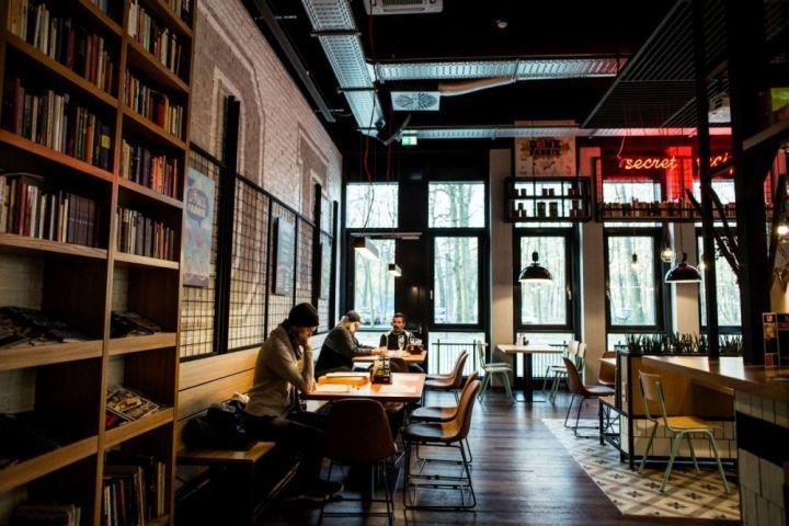 denk fabrik bar restaurant by gruppo decorativo karlsruhe germany retail design blog. Black Bedroom Furniture Sets. Home Design Ideas