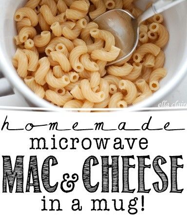 Diy Mug Mac And Cheese