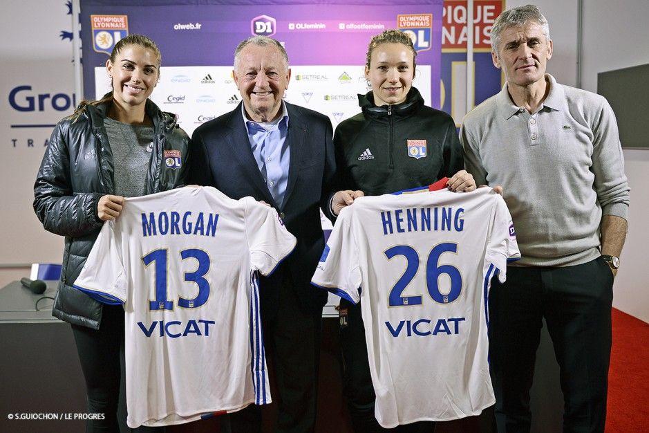 Alex Morgan Olympique Lyonnais