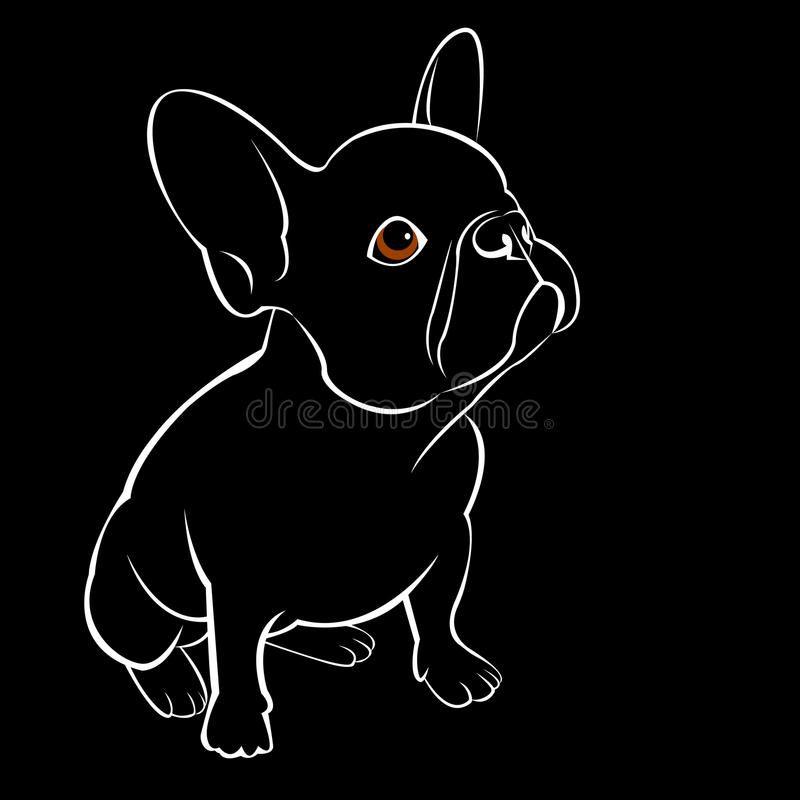 Download Bulldog Dog Animal French Vector Illustration Pet Breed