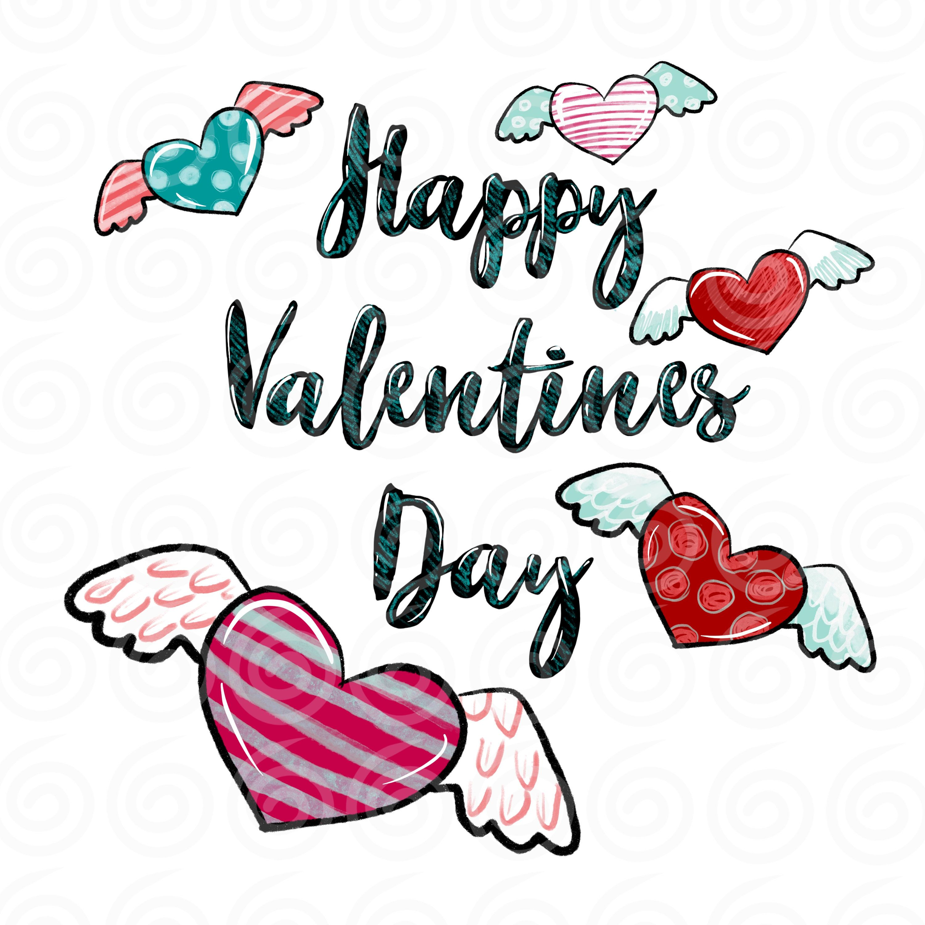 Valentines Day Png Valentines Digital Download Sublimation Etsy In 2021 Happy Valentines Day Images Happy Valentine Day Quotes Valentine Day Love