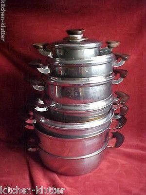 Presto Pride Vintage Cookware Set Vintage Cookware Vintage Kitchen Pride Vintage