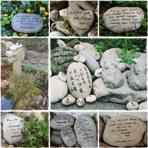 Steine beschriften diy pinterest steine steine - Holz beschriften ...