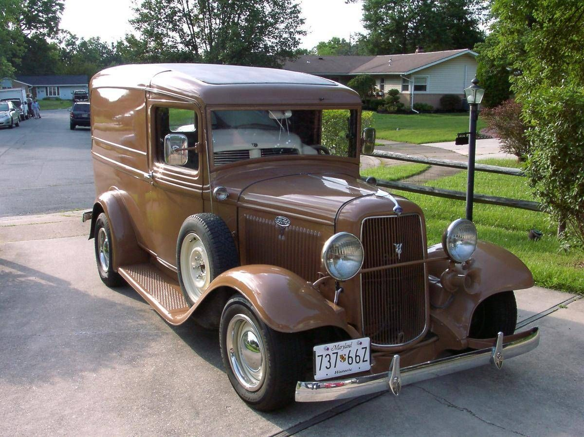 1934 Ford Panel Truck Panel Truck