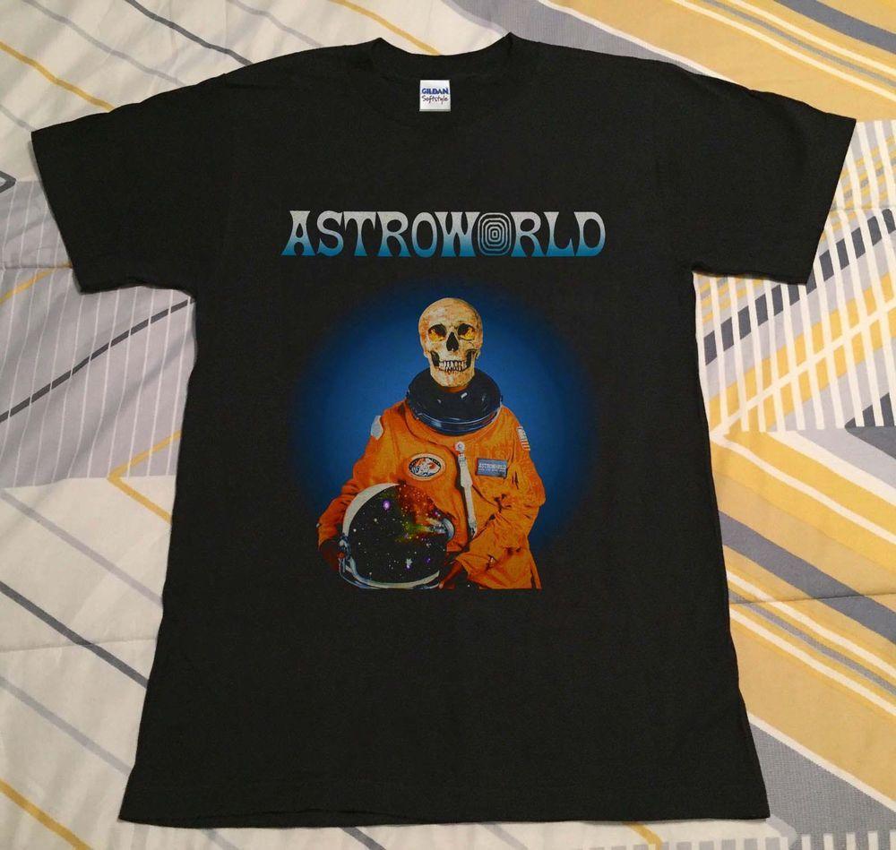 46298f6e43f6 Travis Scott Astroworld Astronaut tour 2018 Houston Texas 2018 t-shirt  reprint #fashion #clothing #shoes #accessories #mensclothing #shirts (ebay  link)
