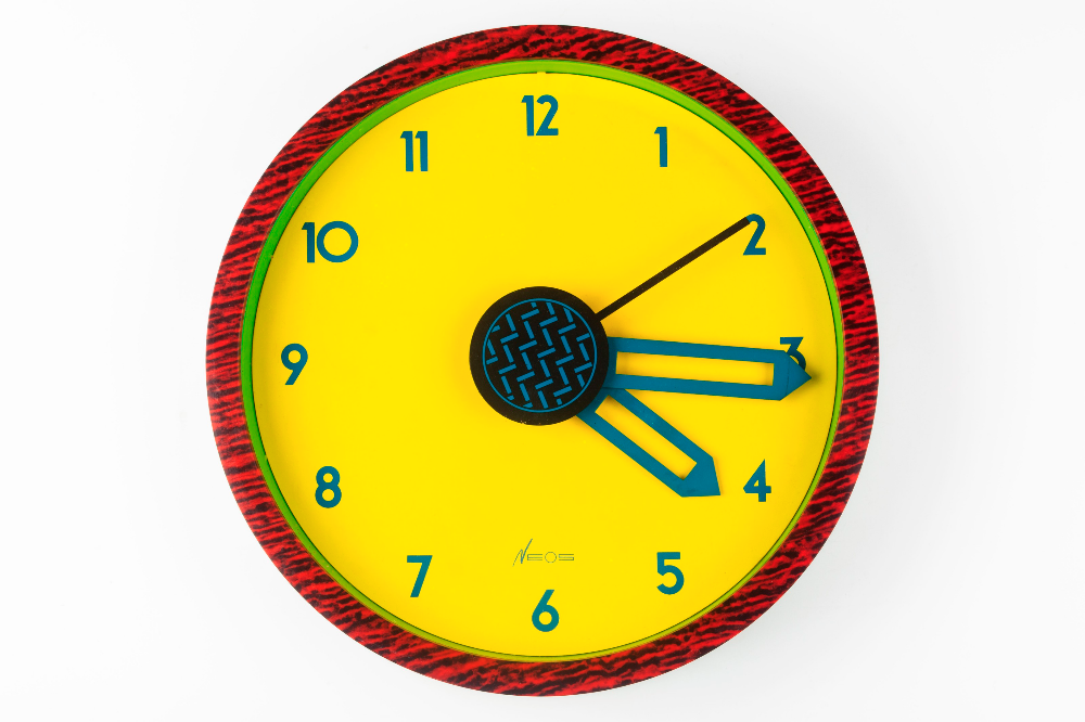 Nathalie Du Pasquier B 1957 And George Sowden B 1942 In 2020 Clock Wall Clock Wall