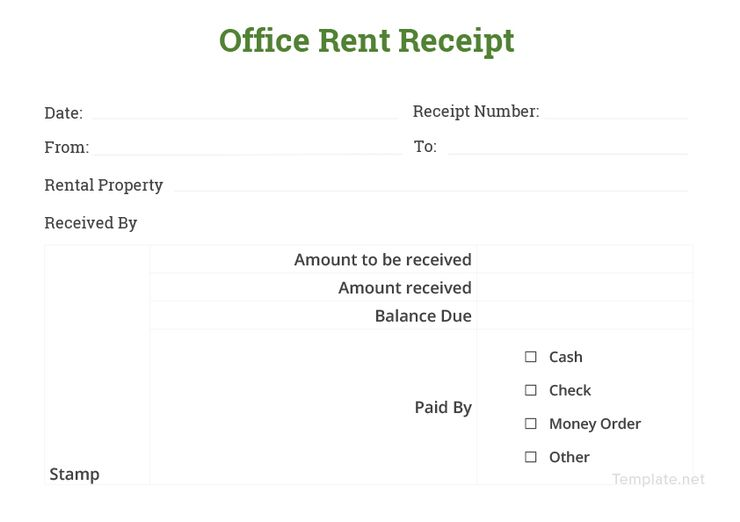 Office Rent Receipt Sample Template Free Pdf Google Docs Google Sheets Excel Word Template Net Words Email Templates Word Doc