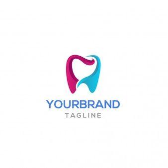 Colorful Tooth Logo Design Logo Design Teeth Logo Dental Logo
