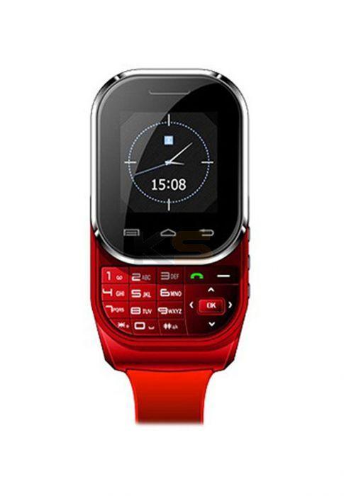 09be0b64182030 Kenxinda W1 (Touchscreen, Keypad, Bluetooth, Radio, Dual SIM) Red Watch  Mobile…