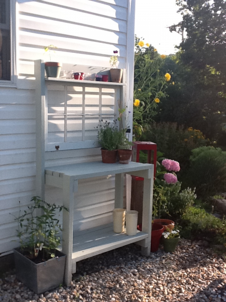 Potting Bench Do It Yourself Home Projects From Ana