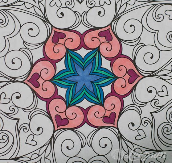 Kaleidoscope Wonder Color Art for everyone Coloring books