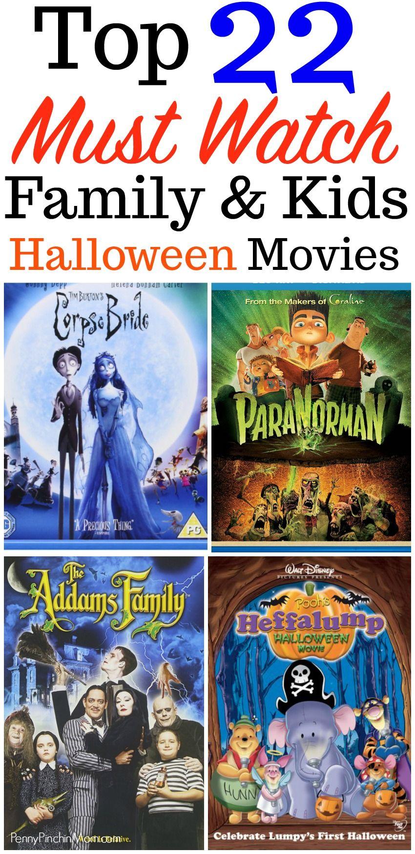 The Best Halloween Movies for Kids | Halloween movies, Halloween ...