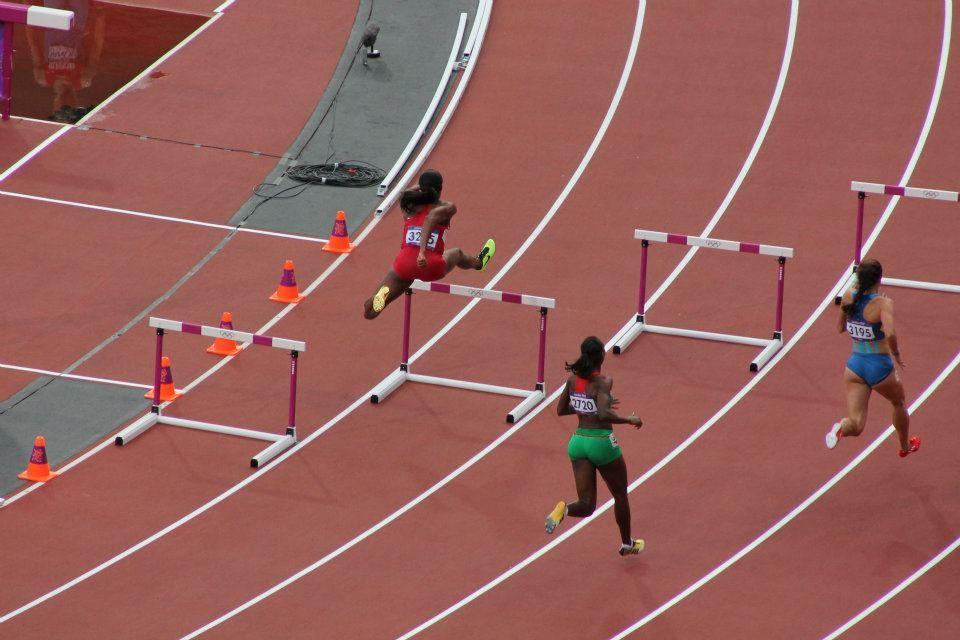 The 200m Hurdles