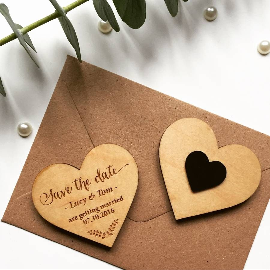 laurel wooden magnet save the date magnets wedding things and wedding