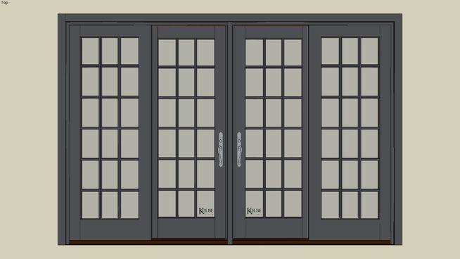 Kolbe Ultra Garden Aire Gau4 10066 F S 9 10 3 8 X 6 7 15 16 R O 9 10 7 8 X 6 8 7 16 3d Warehouse Sliding Patio Doors Millwork Sketchup Model