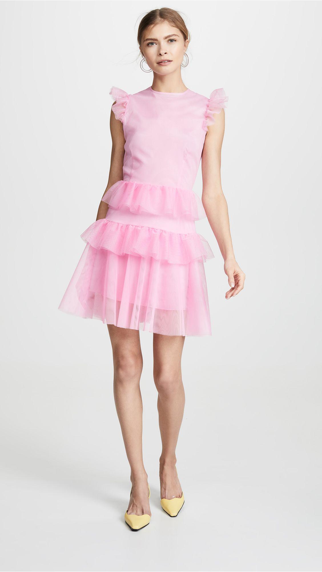 eb12cca902 Ewa Herzog - Tiered Mini Dress | Stylish Cocktail Dresses For Every ...