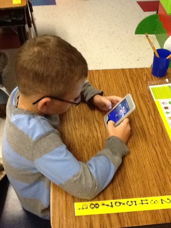 We have IPODS available to all students.