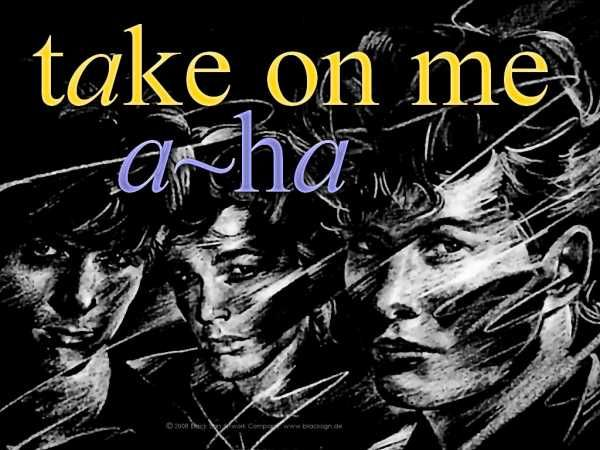 A Ha Take On Me Multitrack Flac And Bonus Wav Mp3 Musica Pop