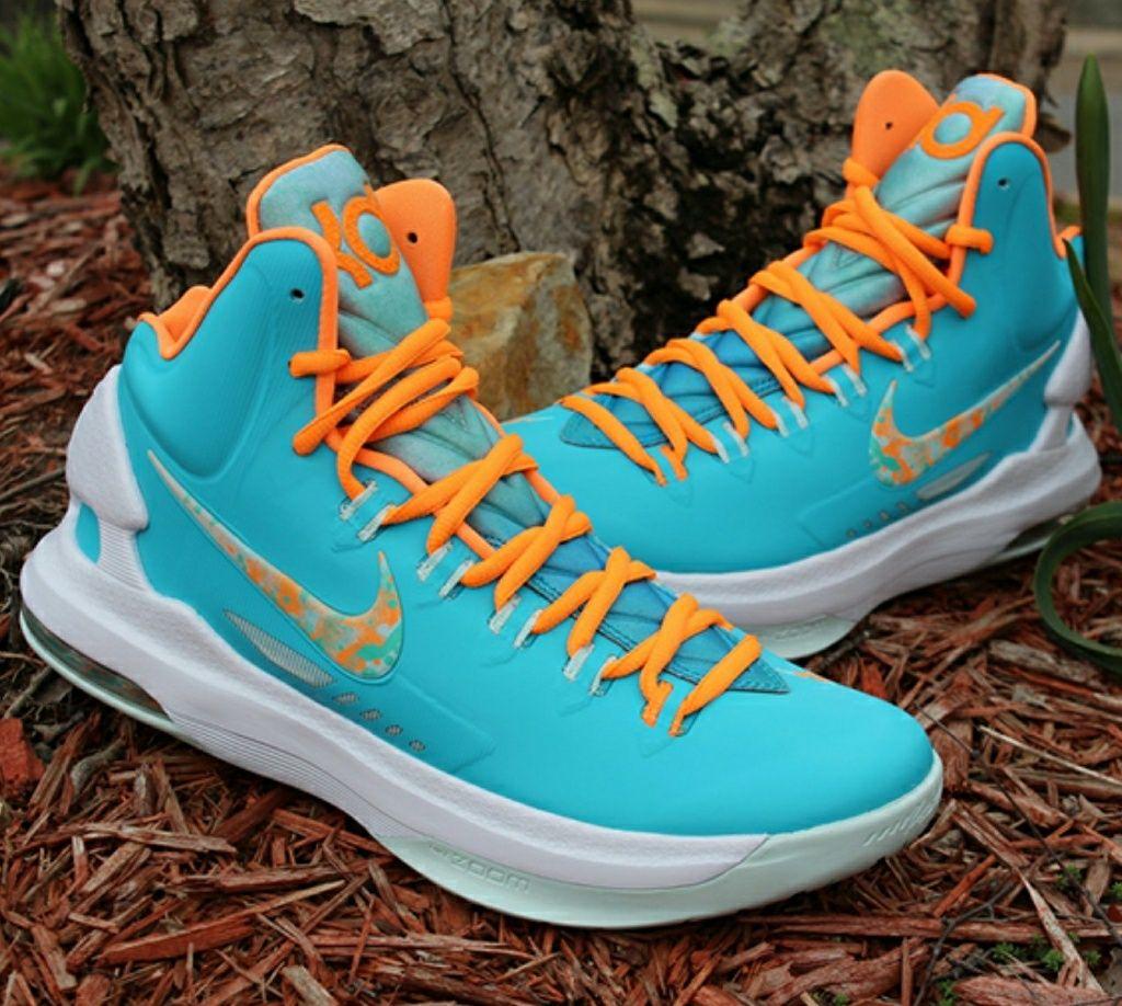 Nike Shoes | Kd V Easter Edition | Color: Blue/Orange ...