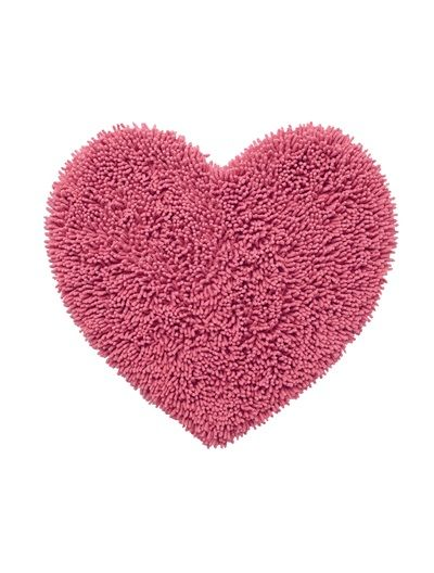 Heart Rug Pink Dark Solidgreen Light Solidpurple Medium Solidpink Light Solidgrey Medium -8173