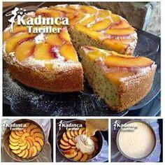 Şeftalili Alt Üst Kek Tarifi, Nasıl Yapılır #donutcake