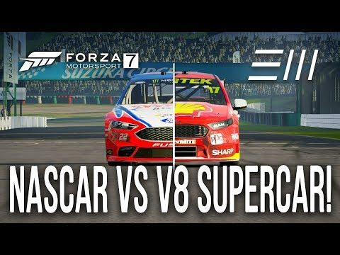 Ford Nascar Vs V8 Supercar Falcon Hot Lap Challenge Forza Motorsport 7 Watch Video Here Http Bestcar Super Cars Forza Motorsport Motorsport