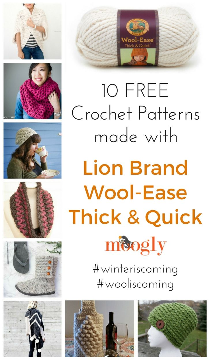 WinterIsComing: Prepare with Lion Brand Wool Ease Thick & Quick ...