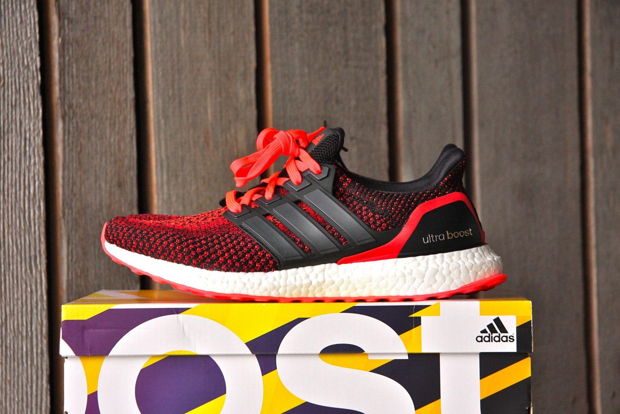 811aa69fc3dae Adidas Ultra Boost 2.0 (Solar Red)