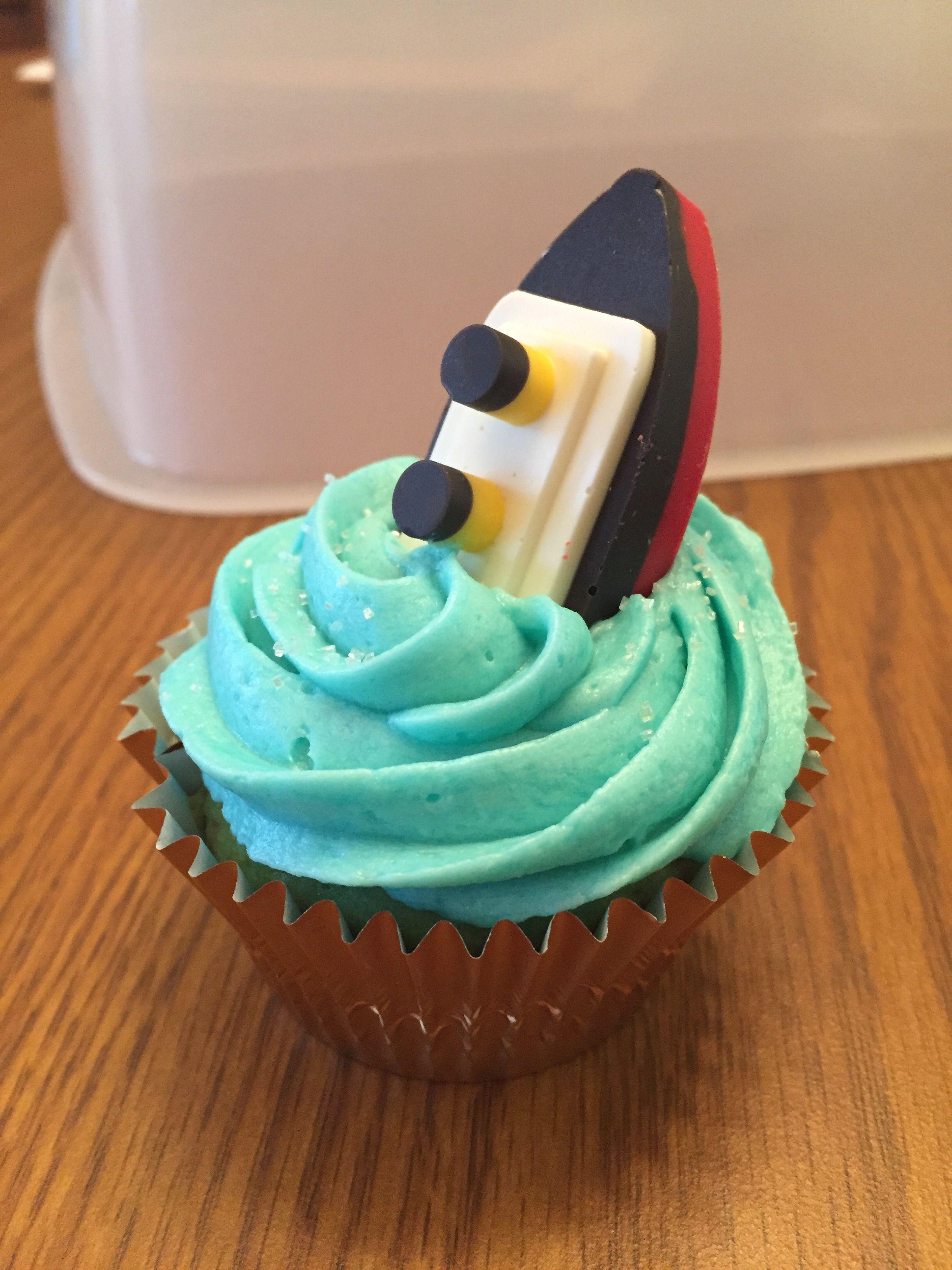Titanic Cupcake 8th Birthday Treats Parties Summer Cake